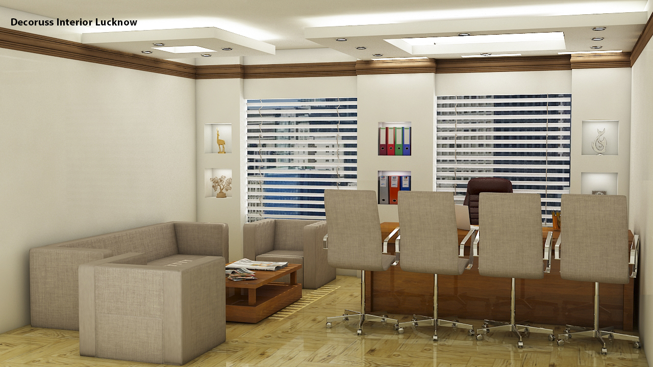 Decoruss best Commercial interior designer in Lucknow