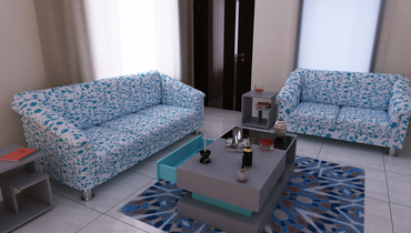 Customized Customized Furniture Portfolio for light colour sofa.