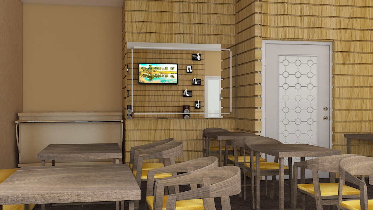 woodern texture design interior design Sitapur