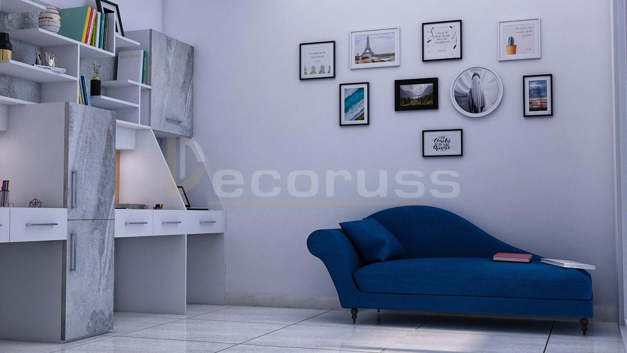Commercial interior 3D design