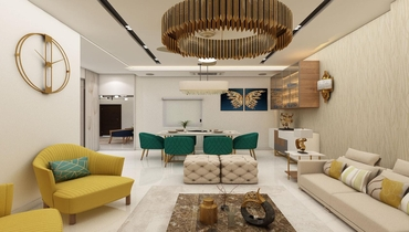 3D interior design ideas lucknow
