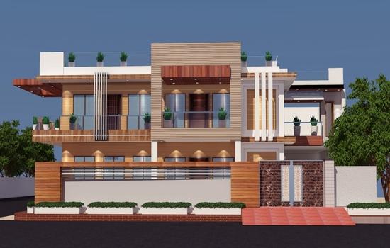 Exterior design ideas in Lucknow