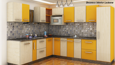L shape ,odular kitchen and dealer in Lucknow