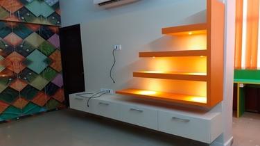 renovation interior design portfolio ideas for LCD pannel