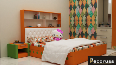 decoruss bed design for turnkey project