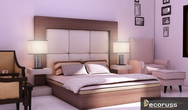 Customized furniture bed for home