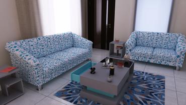 Customized Customized Furniture Portfolio for light colour sofa.