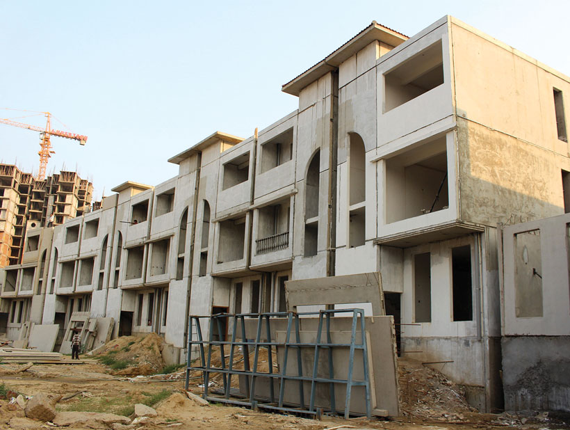 building and construction in lucknow