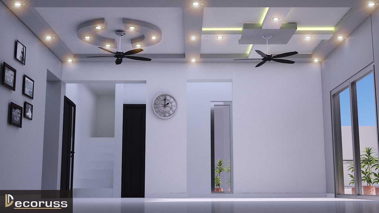 False ceiling interior design raebereli