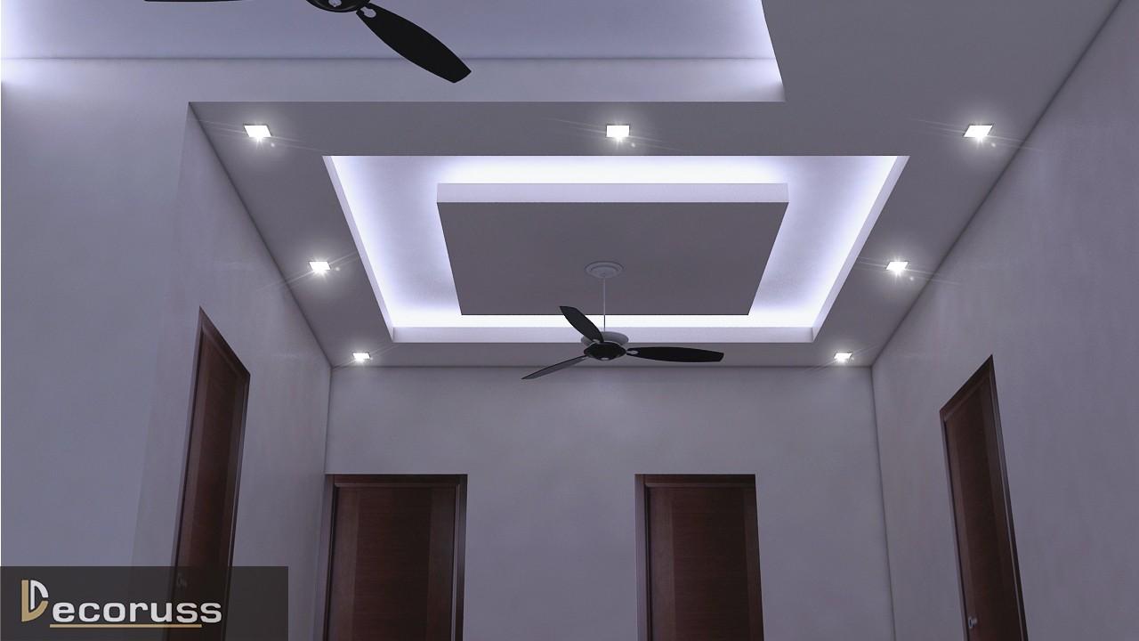 False ceiling ideas for the living room