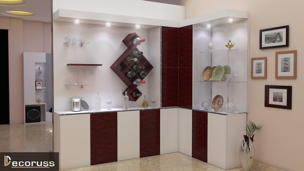 Crokery interior design raebereli