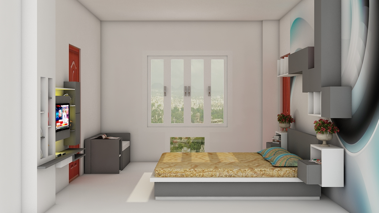 3 D designs for the bedroom