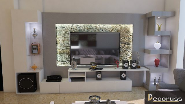 LCD design by inteior decorator in lucknow