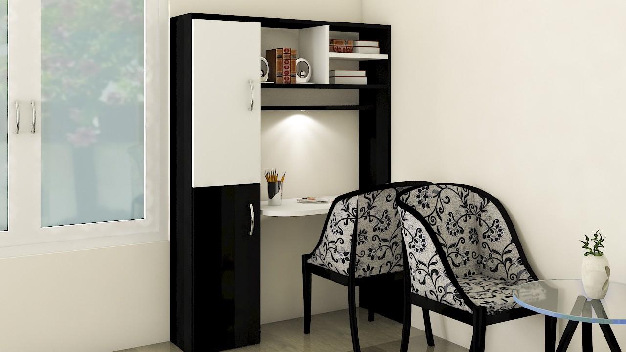 Blackr study table interior designer Raebereli