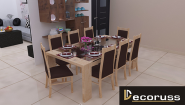 cutomized interior design dining table