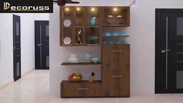 customized interior furniture shelf idea