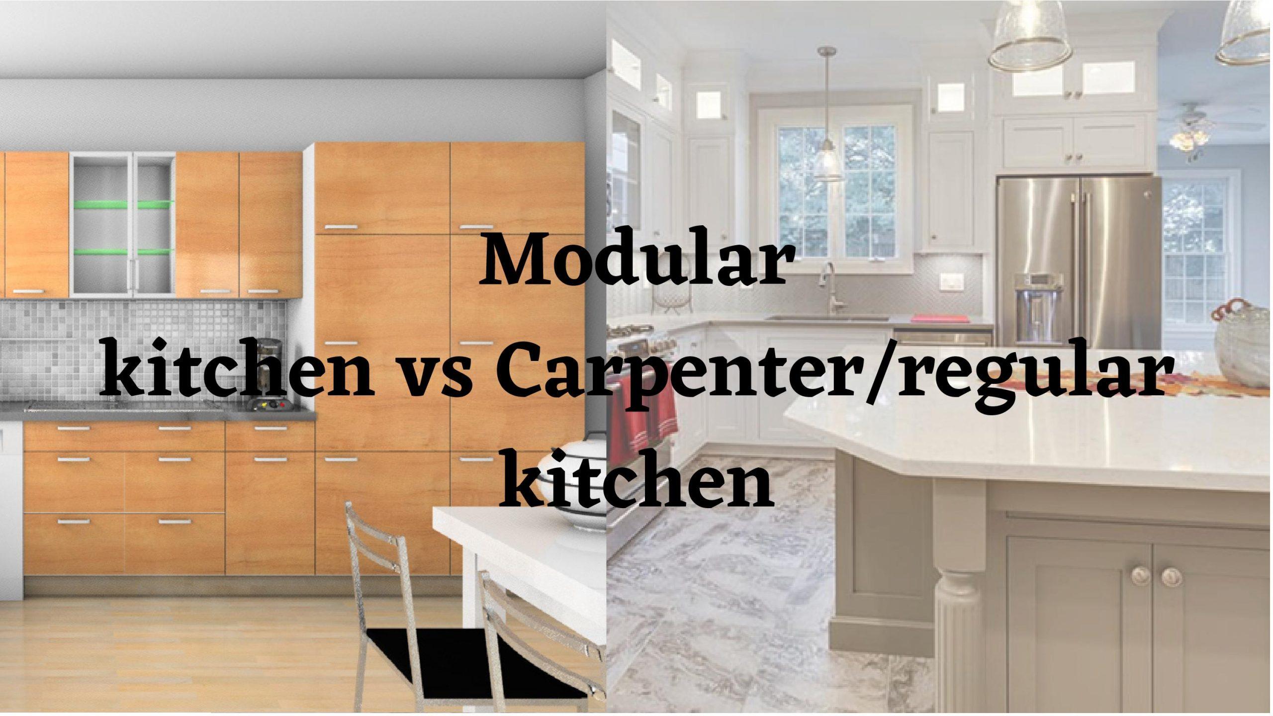 modular kitchen image