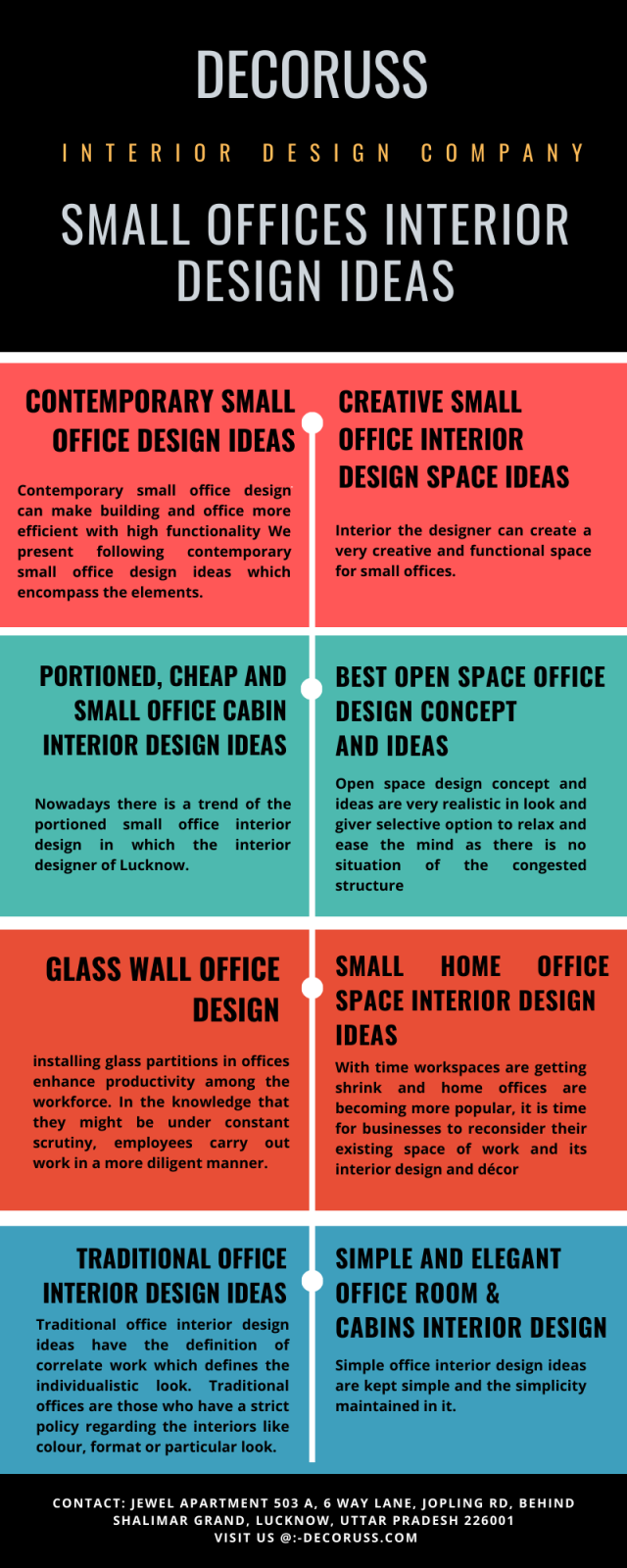 Small offices interior design ideas